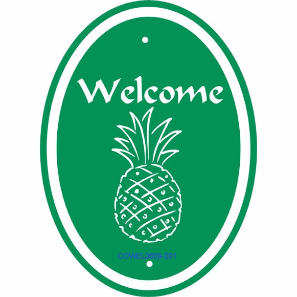 Pineapple Welcome Sign