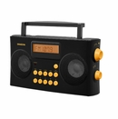 Portable FM/AM Radio with Voice Prompts
