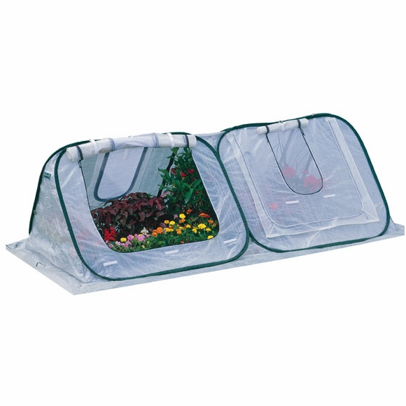 Portable Greenhouse - Pop Up Growing For Plants and Seedlings