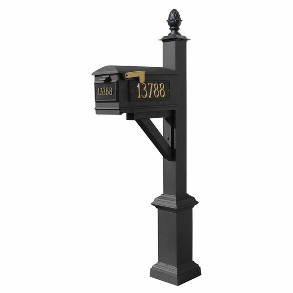 Post and Beam Curbside Mailbox System