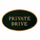 Private Drive Warning Sign