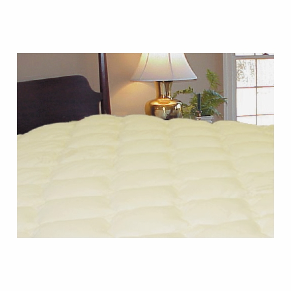 Rayon Bamboo Pillow Top Mattress Pad