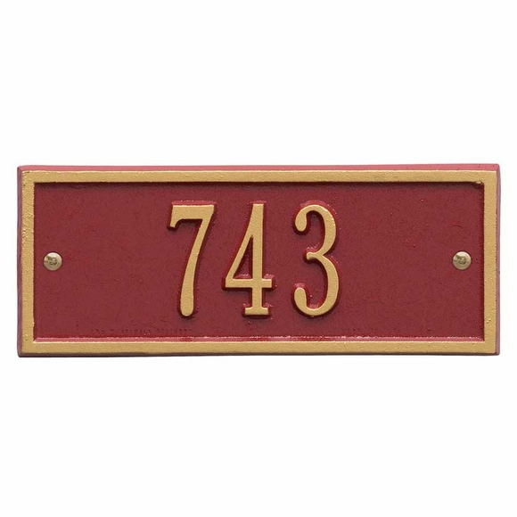 Rectangle Address Sign