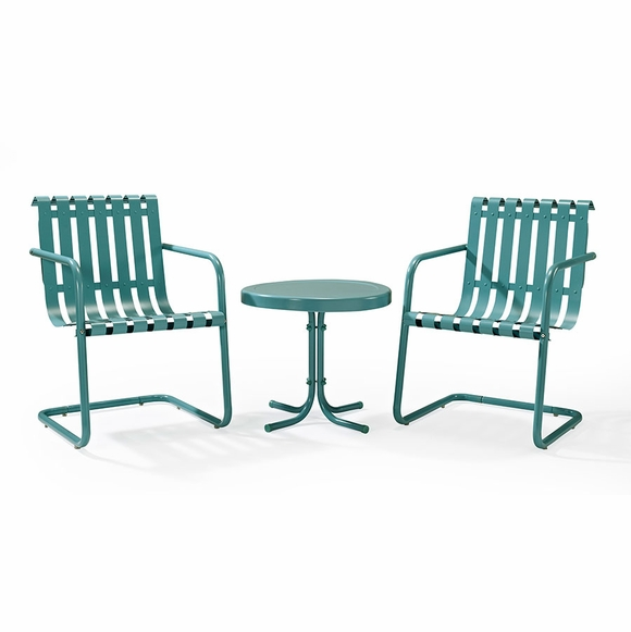 Retro Spring Chair Outdoor Seating Set