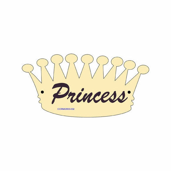 Dog House or Cat House Name Sign In Shape of Royal Crown
