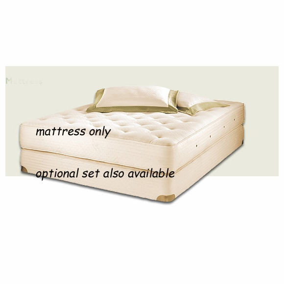 Royal-Pedic Premiere Natural Cotton Mattress made with Organic Cotton
