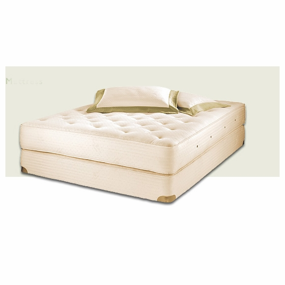 Royal-Pedic Premiere Natural Cotton Mattress Set made with Organic Cotton