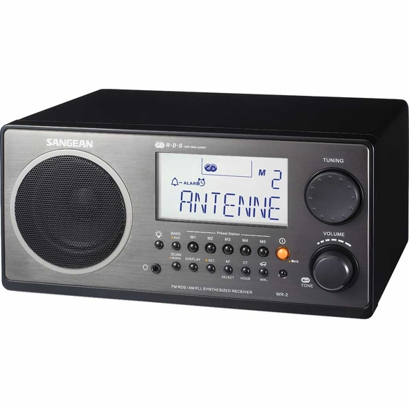 Digital Table Top AM FM Radio With Remote Control and RDS