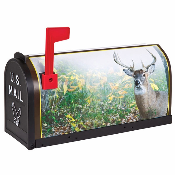 Scenic Decor Deer Mailbox
