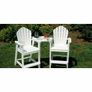 Seaside Casual Adirondack Shellback Tete-a-Tete Table (Chairs sold separately)