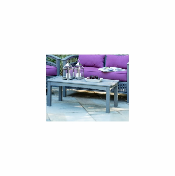 Seaside Casual Java Collection Coffee Table