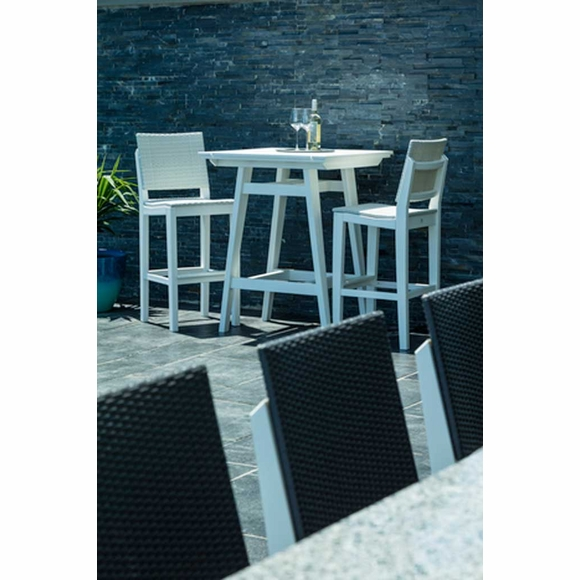 Seaside Casual MAD Fusion Woven Bar Chair