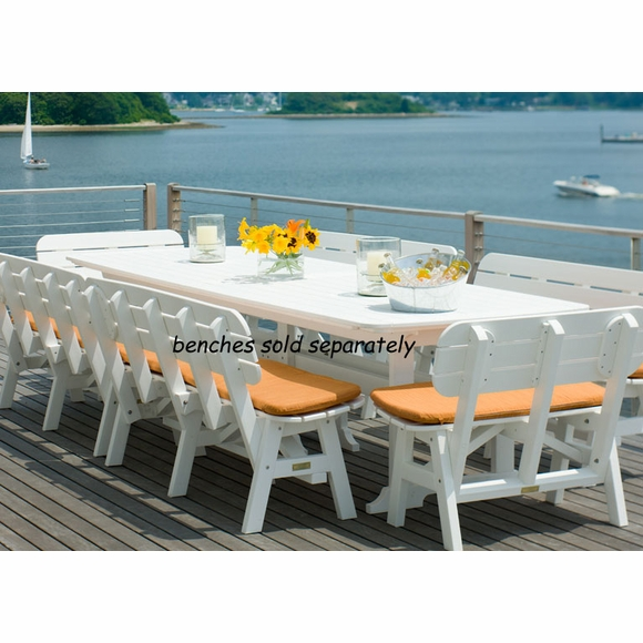 Seaside Casual Portsmouth 130x44 Dining Table