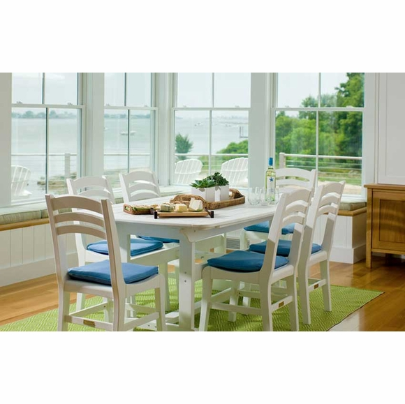 Seaside Casual Portsmouth 72x42 Dining Table