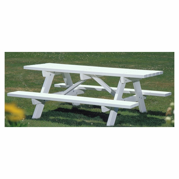 Seaside Casual Traditional Picnic Table