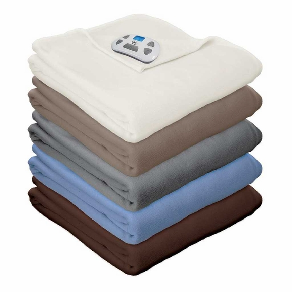 Serta Micro Fleece Blanket with Programmable Controller