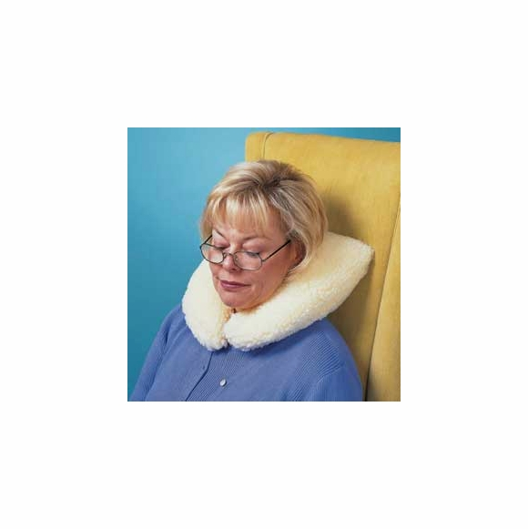 Sheepskin Travel Neck Pillow - U Shape Pillow