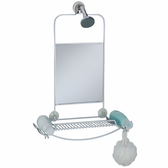 Shower Valet with Mirror