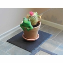 Slate Flower Pot Trivet, Candle Stand, or Table Sculpture Stand