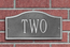 Small Arched Address Plaque