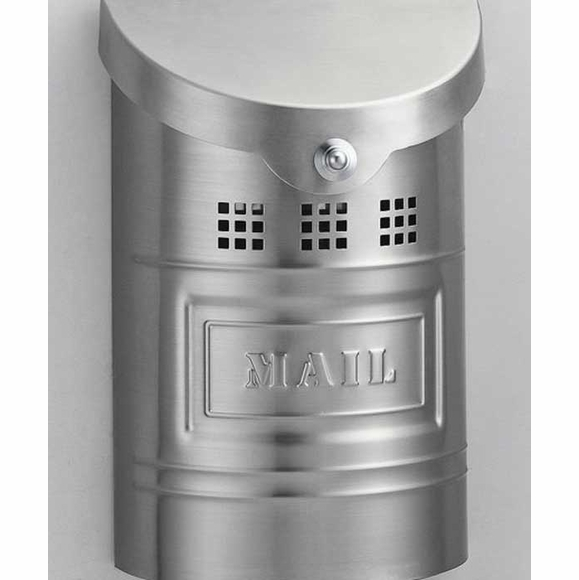Small Wall Mount Mail Box Stainless Steel