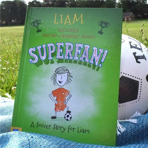 Soccer Superfan Personalized Book for Kids