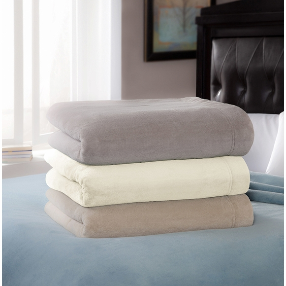 Soft Heat Luxe Plush Low Voltage Electric Blanket (also known as Serta Luxe Plush)