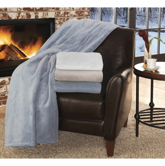 Soft Heat MacroMink Low Voltage Electric Throw