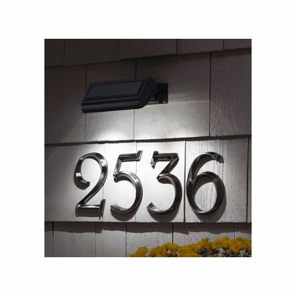 Solar Light For Address Signs & House Numbers