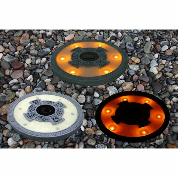 Solar Light Stepping Stones
