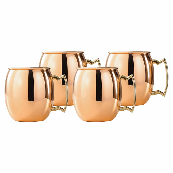 Solid Copper Moscow Mule Mugs 24 ounce