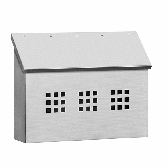 Stainless Steel Front Porch Mailbox