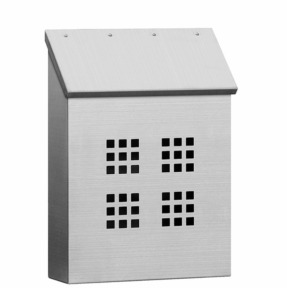 Stainless Steel Vertical Mailbox