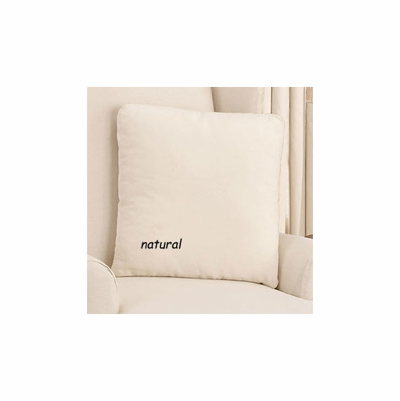 Surefit 17x17 Cotton Duck Throw Pillow