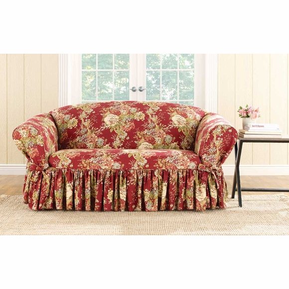 Surefit Ballad Bouquet by Waverly Slipcover