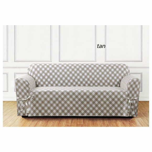 Surefit Buffalo Check Sofa Cover