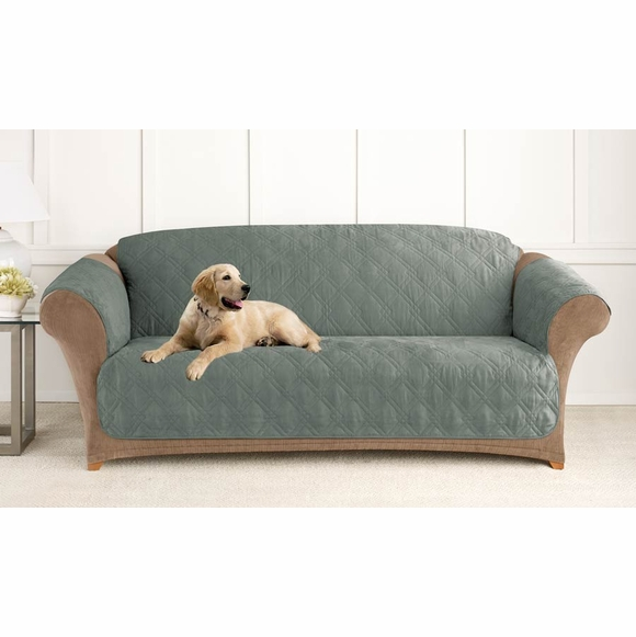 Surefit Microfiber Sofa Pet Cover