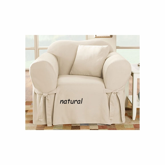 Surefit Natural Cotton Duck Slipcover