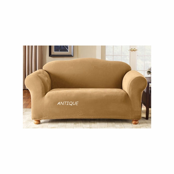 Surefit One Piece Stretch Pique Sofa Cover