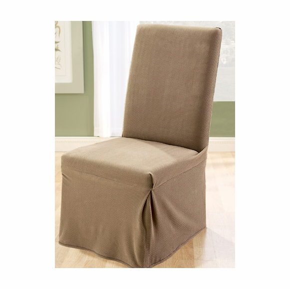 Awe Inspiring Surefit Stretch Pique Dining Chair Slipcover Uwap Interior Chair Design Uwaporg