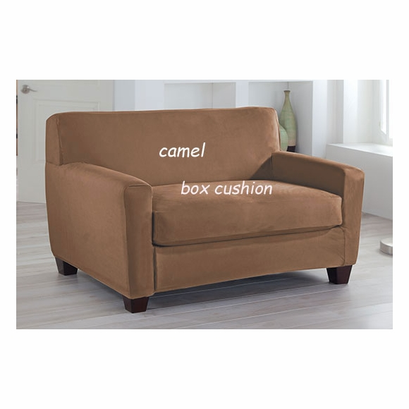 Tailor Fit Two Piece Stretch Loveseat Cover