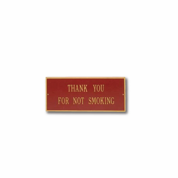 Custom Metal Plaque For Any Message