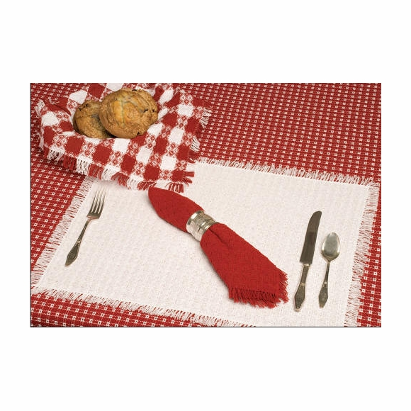 The Mountain Weavers Homespun Tablecloth Special Order