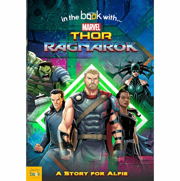 Personalized Thor Ragnarok Book for Kids