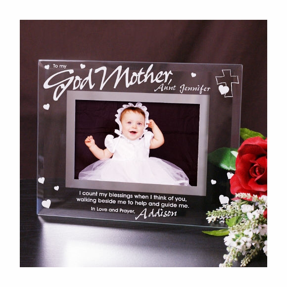 To My Godparents Personalized Picture Frame