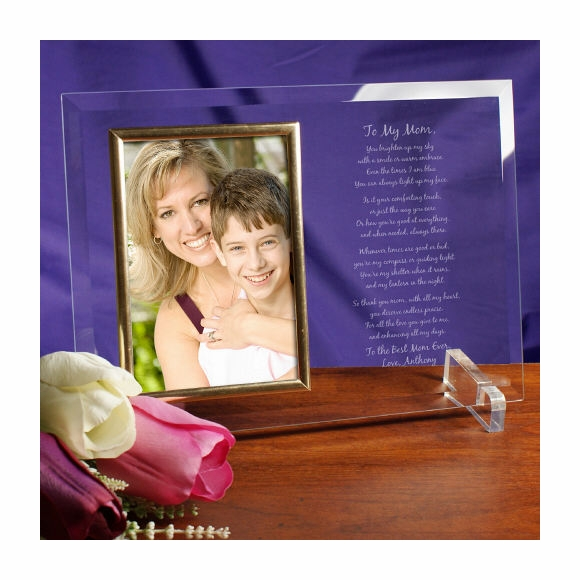 To My Mom Picture Frame with Poem