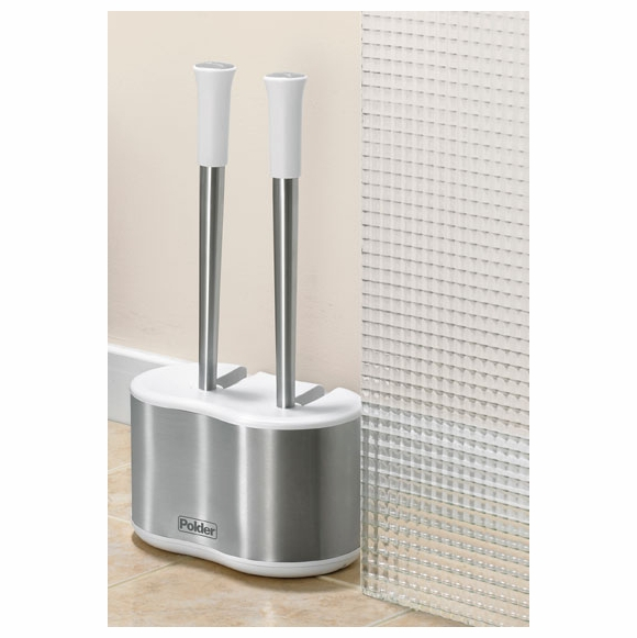 Toilet Brush and Plunger Caddy