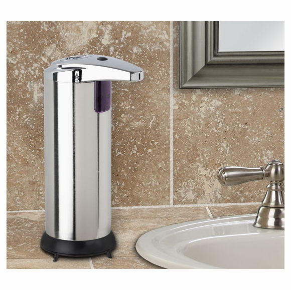Touchless Soap Dispenser - Stainless Steel, Sensor Activated For Kitchen or Bathroom