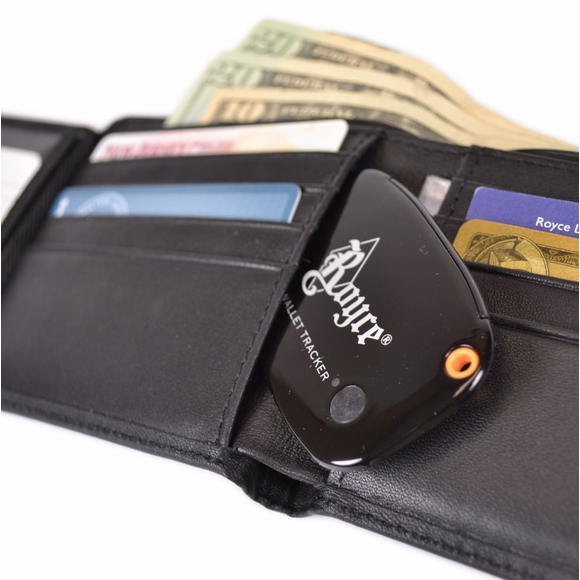Tracking Wallet with RFID Block for Men Monogrammed With Initials