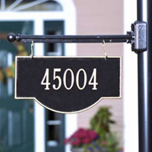 Two Side Personalized Hanging Arch Address Sign